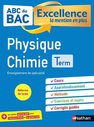 Physique chimie Tle  Edition 2020