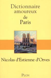 Histoiresdenlire.be Dictionnaire amoureux de Paris Image