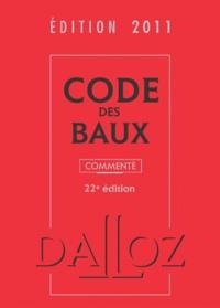 Nicolas Damas - Code des baux commenté - Edition 2011.