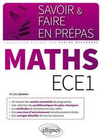 Nicolas Damien - Mathématiques ECE1.