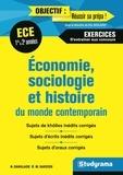 Nicolas Danglade et Miguel Sarzier - 50 sujets ESH 1re et 2e années.