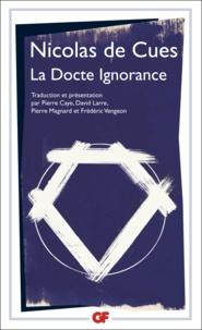 Nicolas de Cues - La docte ignorance.