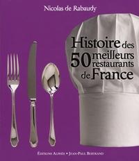 Deedr.fr Histoire des 50 meilleurs restaurants de France Image