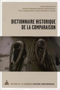 Nicolas Delalande et Béatrice Joyeux-Prunel - Dictionnaire historique de la comparaison - Mélanges en l'honneur de Christophe Charle.