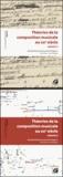 Nicolas Donin et Laurent Feneyrou - Théories de la composition musicale au XXe siècle - Coffret 2 volumes : Volumes 1 et 2.