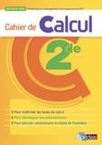 Nicolas Ehrsam - Cahier de calcul 2de.