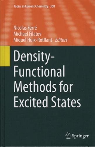 Nicolas Ferré et Michael Filatov - Density-Functional Methods for Excited States.