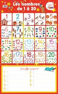 Nicolas Francescon - Poster les nombres de 1 à 20.