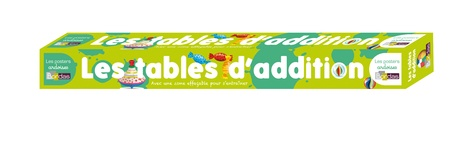 Poster les tables d'addition