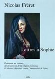 Nicolas Fréret - Lettres à Sophie.