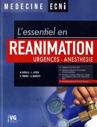 L'essentiel en réanimation- Urgences - Anesthésie - Nicolas Gatulle  