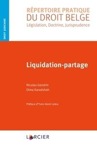 Nicolas Gendrin et Dima Karadsheh - Liquidation-partage.