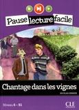 Nicolas Gerrier - Chantage dans les vignes - Niveau B1. 1 CD audio