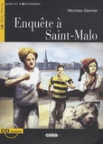 Nicolas Gerrier - Enquête à Saint-Malo. 1 CD audio
