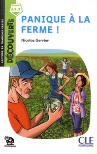 Nicolas Gerrier - Panique à la ferme !.