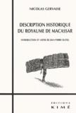 Nicolas Gervaise - Description historique du royaume de Macassar.