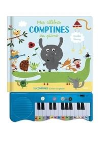 Nicolas Gouny - Mes célèbres comptines au piano - 15 comptines à jouer au piano.