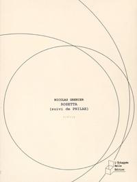 Nicolas Grenier - Rosetta (suivi de Philae).