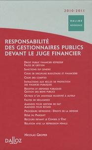 Deedr.fr Responsabilité des gestionnaires publics devant le juge financier Image