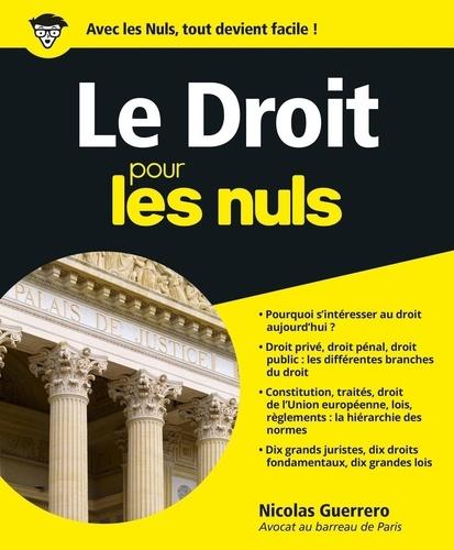 Le droit pour les nuls - Nicolas Guerrero - Format ePub - 9782754073202 - 15,99 €