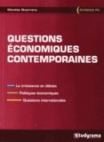 Nicolas Guerrero - Questions économiques contemporaines.