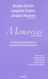 Nicolàs Guillén et Hugues Langston - Memories - Anthologie poétique.