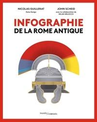 Nicolas Guillerat et John Scheid - Infographie de la Rome antique.
