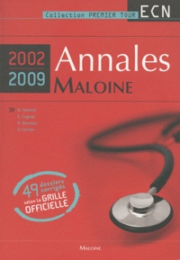 Histoiresdenlire.be Annales Maloine 2002-2009 - 49 dossiers corrigés selon la grille officielle Image