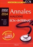 Nicolas Hoertel et Emmanuel Cognat - Annales Maloine ECN Internat 2002-2014.