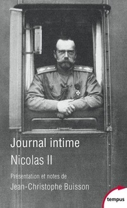 Nicolas II - Journal intime de Nicolas II.