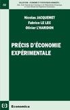Nicolas Jacquemet et Fabrice Le Lec - Précis d'économie expérimentale.