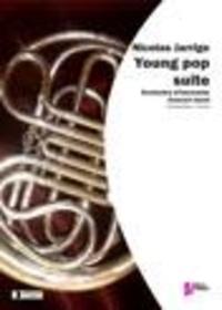 Nicolas Jarrige - Young Pop Suite - Partition pour orchestre d'harmonie. Conducteur et parties.