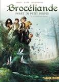 Nicolas Jarry et  Djief - Brocéliande Tome 3 : Le Jardin aux moines.
