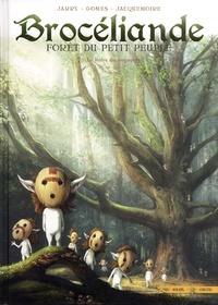 Nicolas Jarry et François Gomes - Brocéliande Tome 7 : Le Hêtre du voyageur.