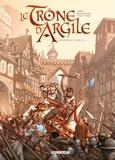 Nicolas Jarry et France Richemond - Le Trône d'Argile Intégrale Tomes 1 à  : .