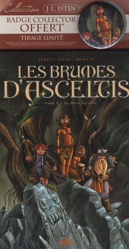 Nicolas Jarry et Jean-Luc Istin - Les brumes d'Asceltis Tome 2 : Le Dieu lépreux - Tirage limité avec badge collector offert.