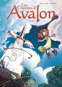 Nicolas Jarry et  Achile - Les Chemins d'Avalon Tome 3 : Excalibur.
