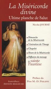 Nicolas Journé - La Miséricorde divine - Ultime planche de salut.