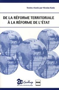 Deedr.fr De la réforme territoriale à la réforme de l'état Image