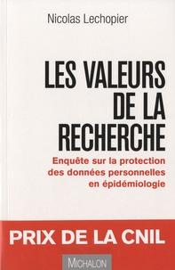 Histoiresdenlire.be Les valeurs de la recherche - Enquête sur la protection des données personnelles en épidémiologie Image