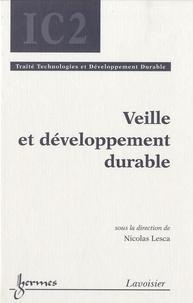 Nicolas Lesca - Veille et développement durable.