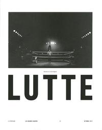 Nicolas Lévesque - Lutte.