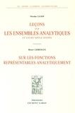 Nicolas Lusin et Henri Lebesgue - Leçons sur les ensembles analytiques et leurs applications ; Sur les fonctions représentables analytiquement.