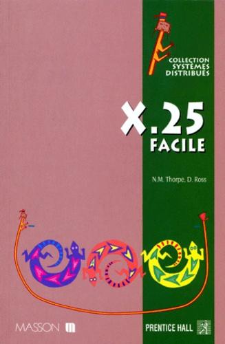 Nicolas-M Thorpe et Derek Ross - X.25 facile.