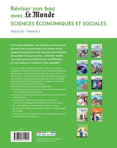 Sciences économiques et sociales Terminale  Edition 2021