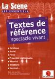Nicolas Marc - Textes de référence spectacle vivant.
