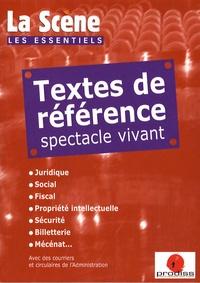 Textes de référence spectacle vivant.pdf