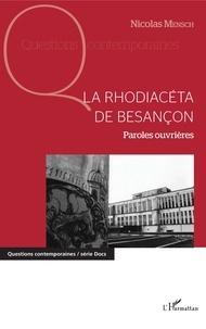 Deedr.fr La Rhodiacéta de Besançon - Paroles ouvrières Image