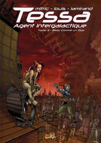 Nicolas Mitric et  Louis - Tessa Agent intergalactique  : Beau comme un Diyo ; Cosmolympiades - Pack 2 tomes.