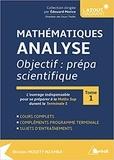 Nicolas Mouity Nzamba - Mathématique analyse - Objectif : prépa scientifique - Tome 1.